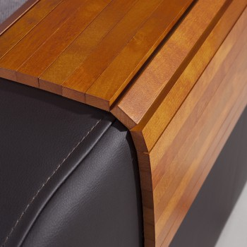 Mata drewniana na sofę, podłokietnik 40x30