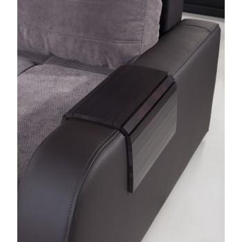 Mata drewniana na sofę, podłokietnik