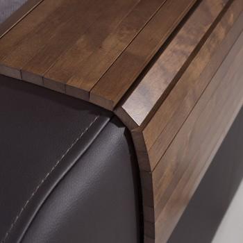 Mata drewniana na sofę, podłokietnik 100x40