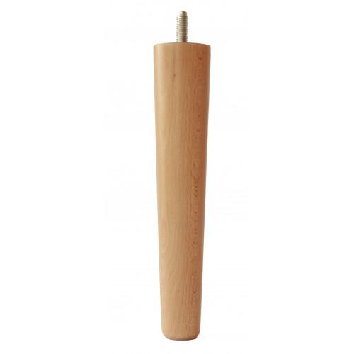 Noga drewniana do mebli Tube-1