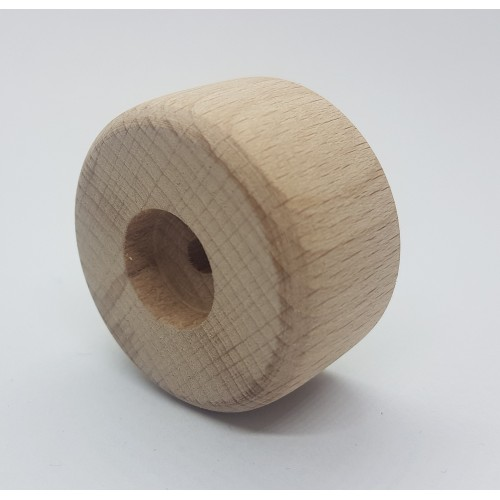 Noga drewniana do mebli Ślizg
